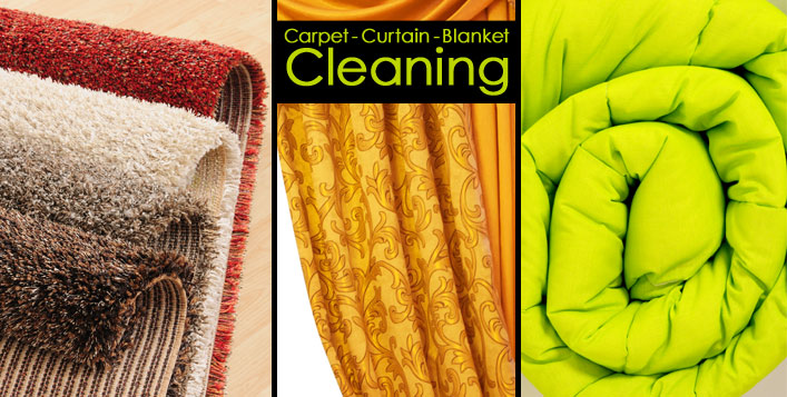Carpet or Blanket Dry Cleaning
