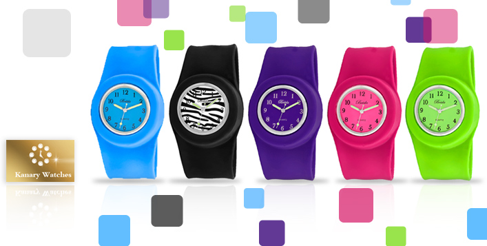 Vibrant Breda Lilly Slap Watch