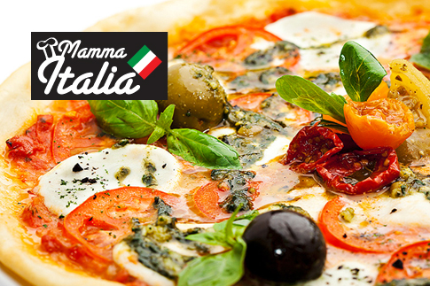 Pay AED 25 and get a value voucher worth AED 50 to spend on anything from Mamma Italia's new menu!