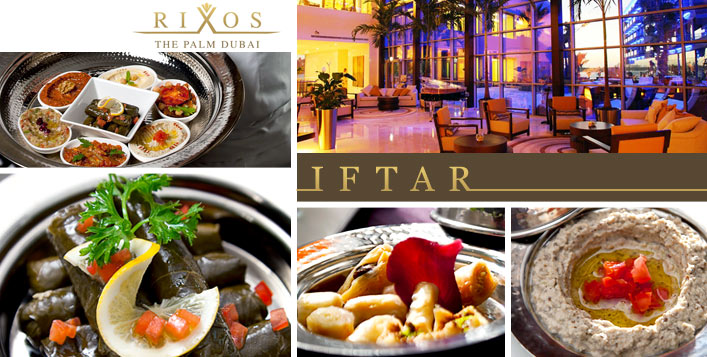 Set Menu Iftar at Rixos The Palm