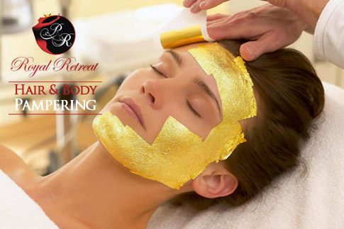 Treat yourself to some royal pampering with a 1 hour massage, 24K gold facial, classic manicure and hot oil or cream hair treatment for AED 159 at Royal Retreat Beauty Center!