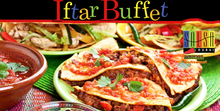 Mexican Iftar Buffet with Shisha