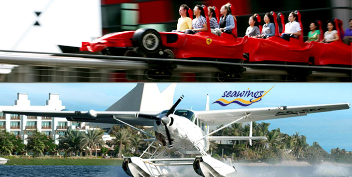 Seawings & Ferrari World Abu Dhabi