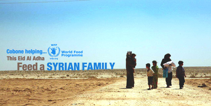 Help Feed Syrian Families in Need