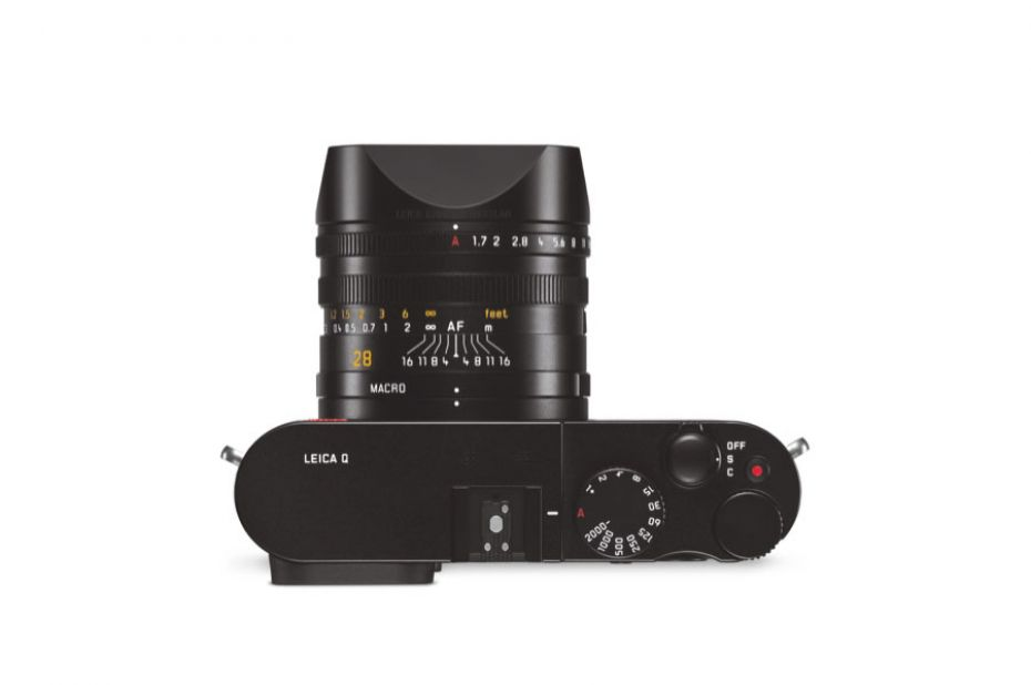 Leica Q compact camera met Full Frame sensor