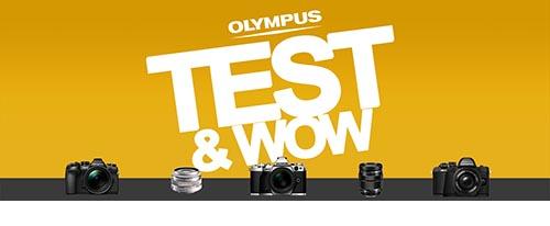 Olympus test & wow