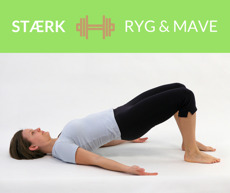 Stærk ryg og mave træningsprogram