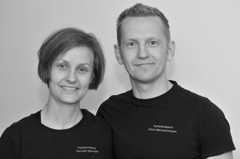 Fysioterapeut Pernille Springer og osteopat Claes Benjaminsson