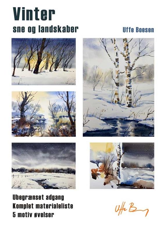 Vinter, sne og landskaber
