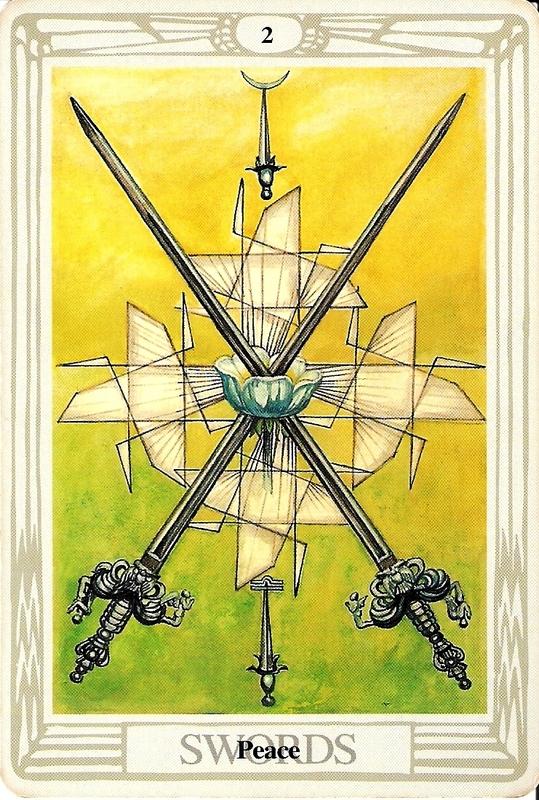 2 Sværd - Fred