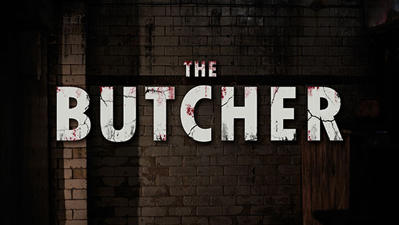 Butcher Wall Graffiti