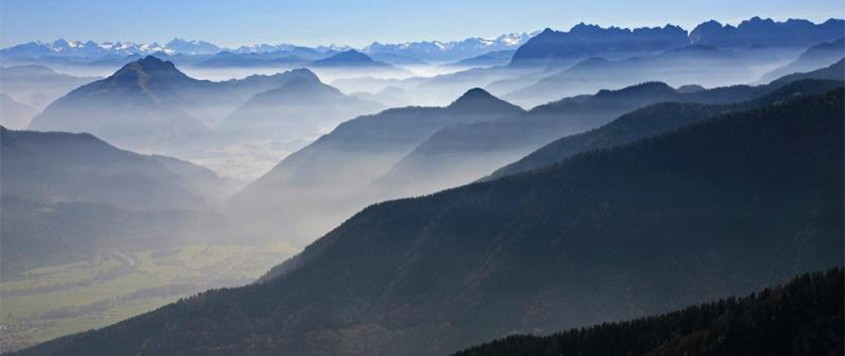 Chiemgau alps