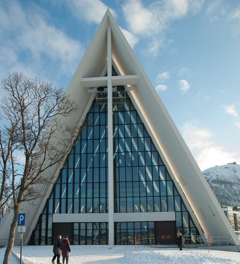 Eismeerkathedrale  Tromsø