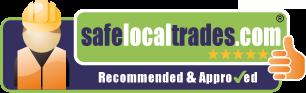 Safe Logo Trades Logo