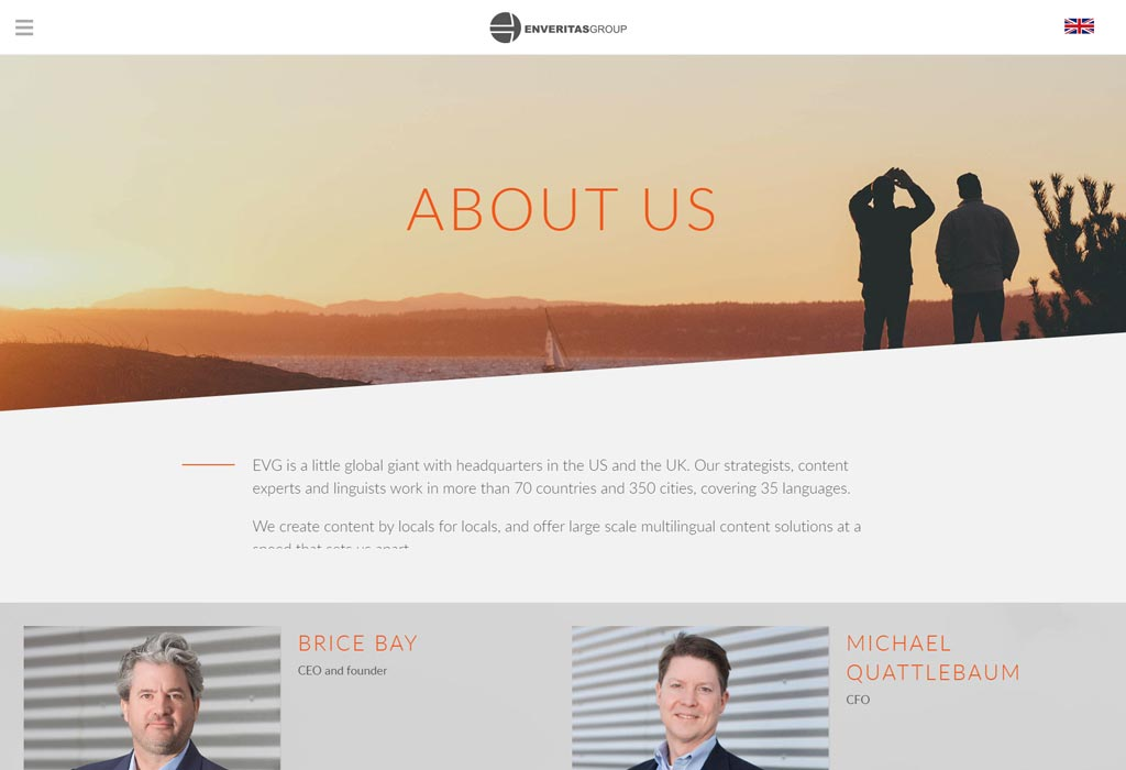 EVG Wordpress Design