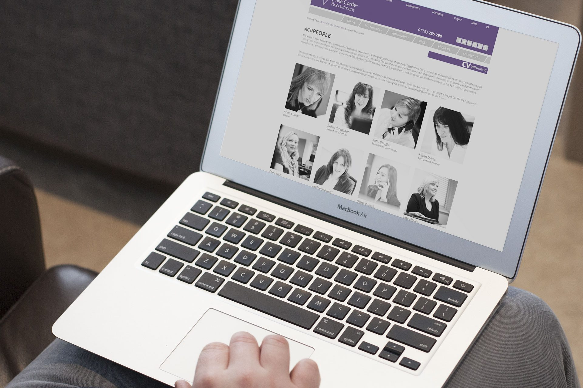 Annecorder responsive wordpress site