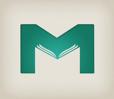 Mybookblue logo design by Free Thinking