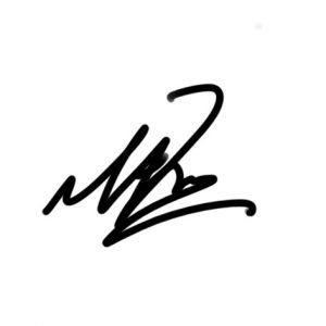 Matt Free Signature
