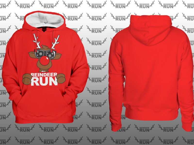 Optional CRW Reindeer Run Varsity Hoodie