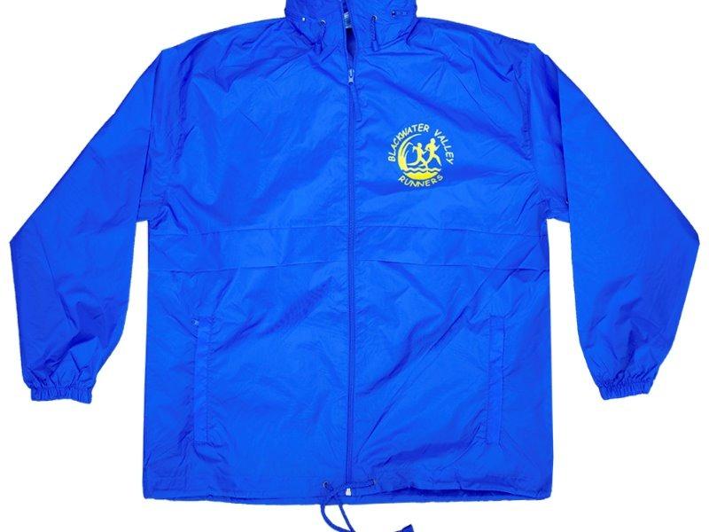 Surf 32000 wind rain Jacket Blue with BVR logo