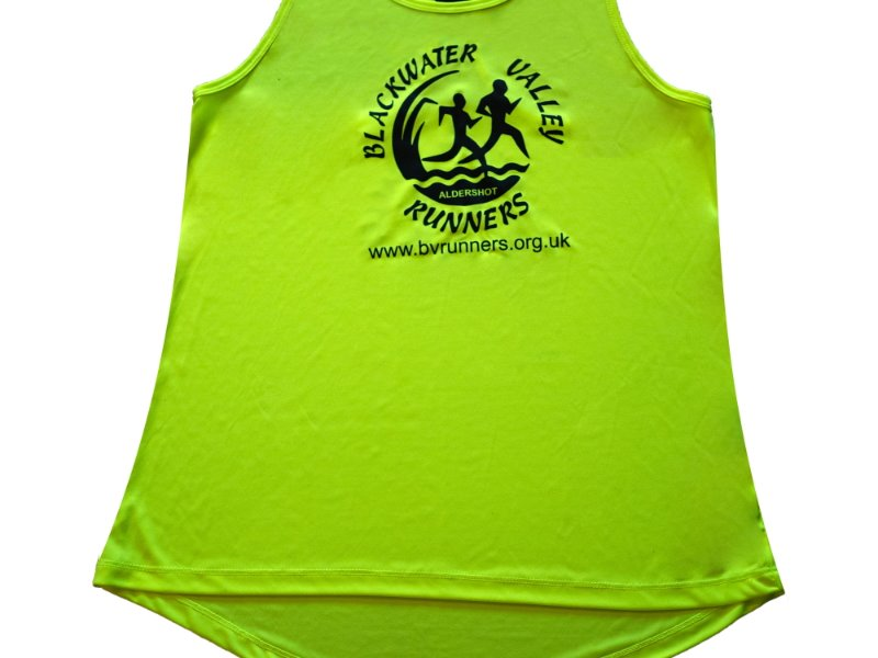 KIT - Vest - cool Female Smooth - Electric yellow - Black BVR logo