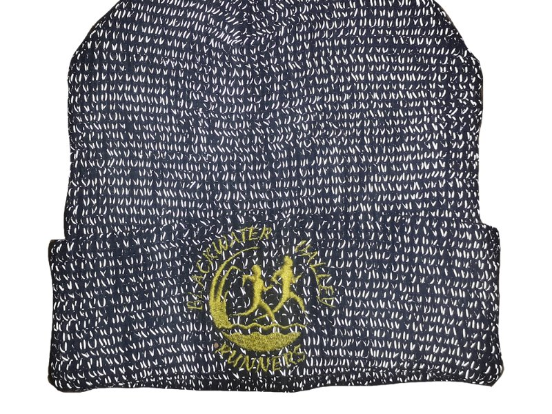 KIT - HI VIZ  Beanie - Grey with BVR logo Turns reflective in light -  Beachfield