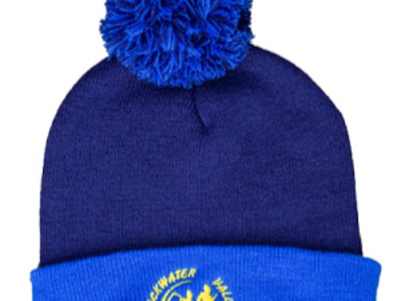 KIT - Beanie Breeze Pom Pom Two tone BVR Logo