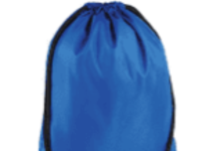 KIT - Drawstring Bag Blue with bVR logo
