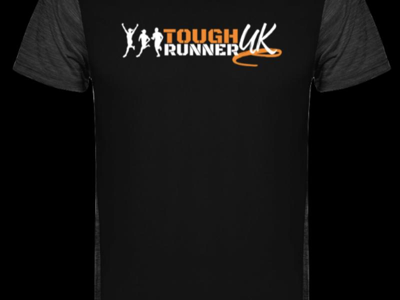 Tough Runner T-shirt - BLACK