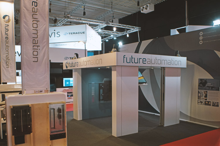 Future Automation ISE 2018 Exhibition Stand