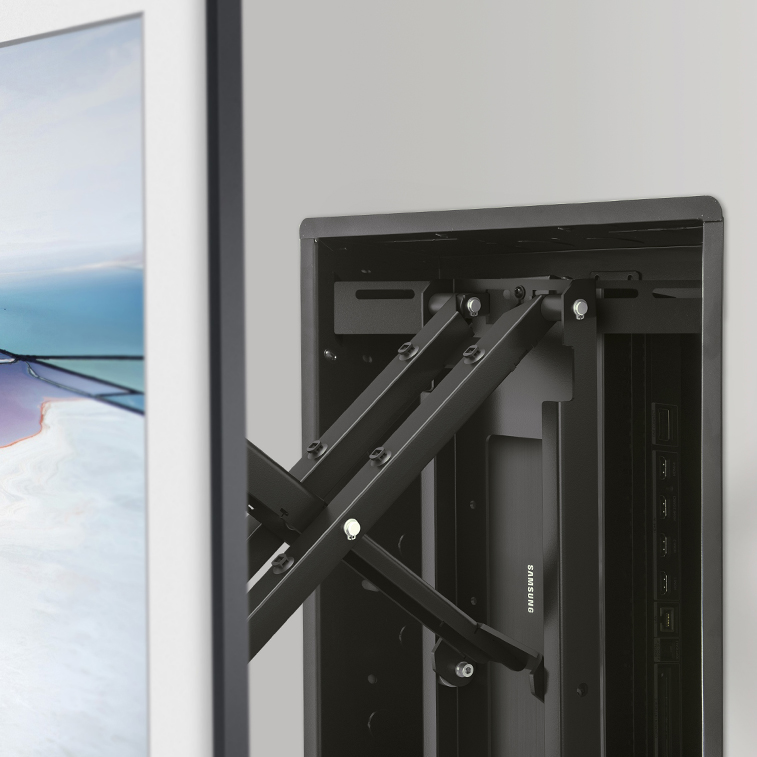 All-in-one solution for mounting the Samsung Frame TV & One