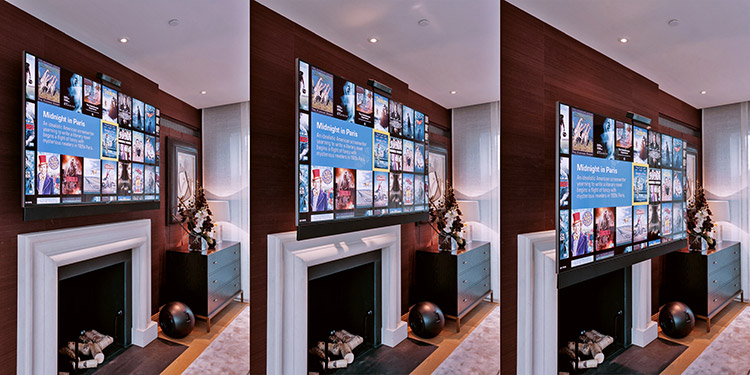 EAD Electronic Advance and Drop TV Wall Mount