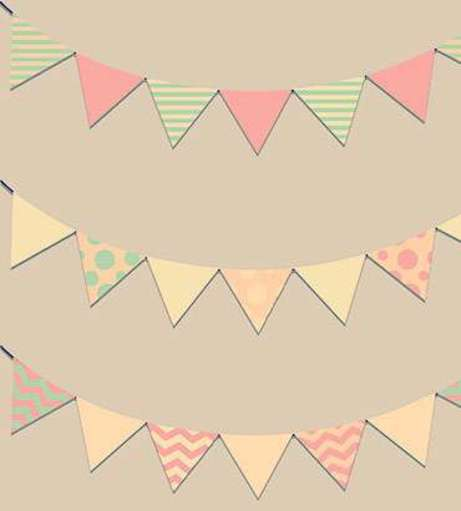 At Home Hen Parties - Bunting Workshop