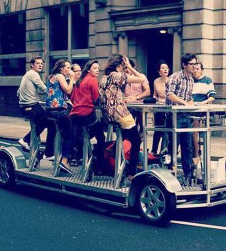 Hen Party Packages - Amsterdam - Bar on Wheels