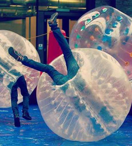 Hen Party Packages - Bournemouth - Bubble Football