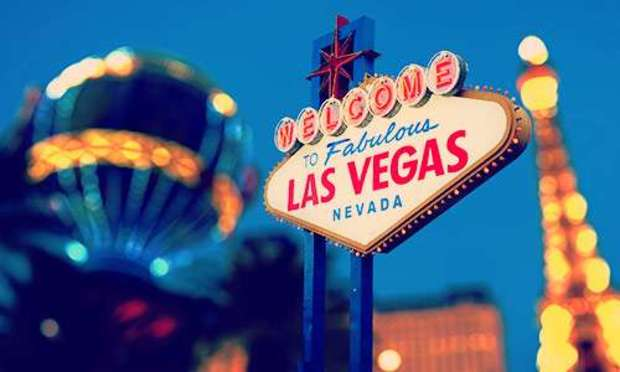 Welcome to Las Vegas sign lighting up the night sky. Explore Las Vegas Hen Party ideas below:
