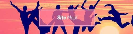 Hen Weekends Site Map