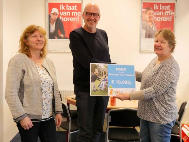 NSGK steunt project 'Een feest voor doven'
