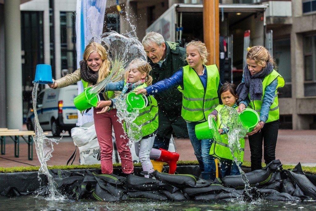 Waterfestival bij Leeuwarder WaterCampus en Potmarge