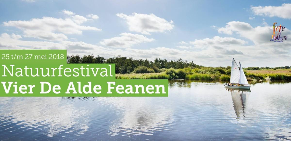 Natuurfestival Vier de Alde Feanen 25-27 mei 2018