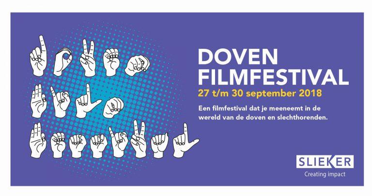 Doven Film Festival van 27 t/m 30 september in Leeuwarden!