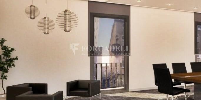 Oficina amb terrassa en lloguer al costat de la Pl. Catalunya. Barcelona #2