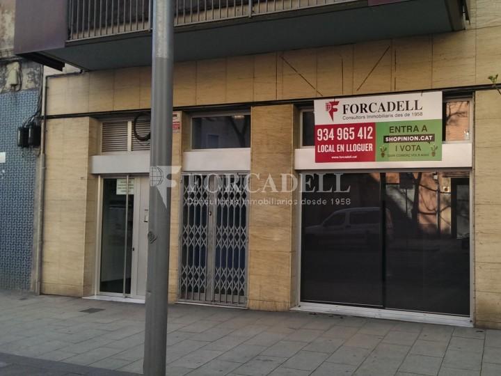 Local-oficina en lloguer acondicionat al C. Sagrera. Barcelona. #1