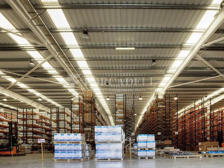 Nau logística de lloguer de 8.555,44 m²  -Subirats, Barcelona.  #3