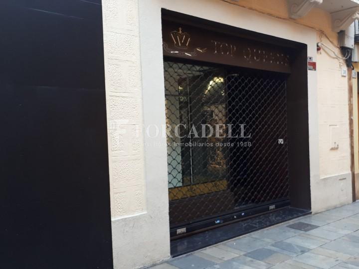 Local comercial en lloguer situat al centre de Mataró. Barcelona.  #1