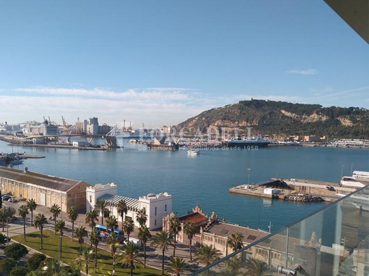 Oficina de lloguer lluminosa, davant del mar. Passeig Joan de Borbó. Barceloneta. 7