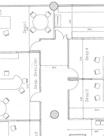 Oficina exterior y diáfana reformada en alquiler. Sant Just Desvern.  9
