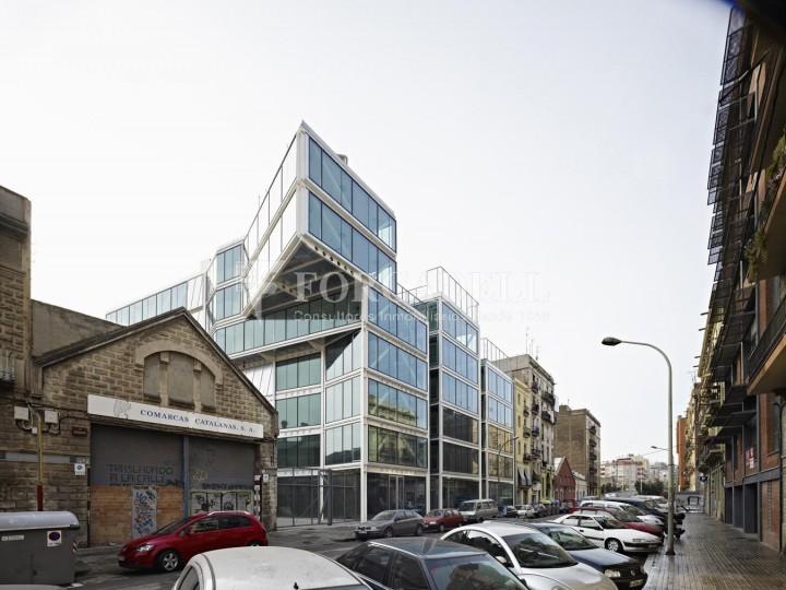 Oficina exterior i lluminosa en lloguer al districte de 22@. Barcelona. 1