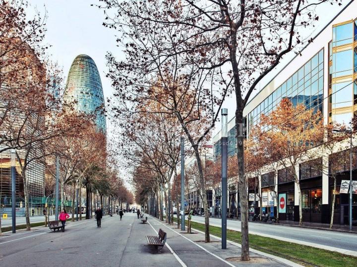 Oficina exterior i lluminosa en lloguer al districte de 22@. Barcelona. 12