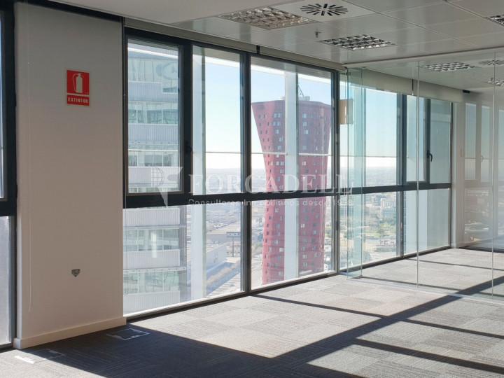 Oficina en alquiler en la Plaza Europa. Hospitalet de Llobregat. 9